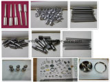 Центр CNC пластмассы и металла подвергая механической обработке