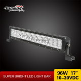 '' barra ligera campo a través del jeep LED de la fila doble 17