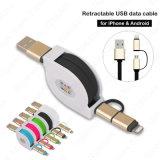 Handy-Zubehör einziehbares aufladendes Mikro-USB-Kabel