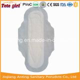 Algodón suave no tejidos superficiales toallas sanitarias, señora de ratón de Anting