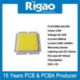 Qualitäts-quadratische Leistungs-runder Aluminium LED Schaltkarte-Vorstand