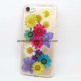 Caja verdadera de la flor TPU para el iPhone 7