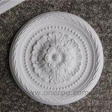 Médaillon/roses décoratifs de plafond d'unité centrale pour le polyuréthane à la maison intérieur Hn-001