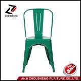 녹색 쌓을수 있는 저속한 가구 금속 실내 옥외 의자 대중음식점