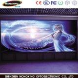 Pantalla de visualización a todo color de interior de LED de la tablilla de anuncios de LED P7.62