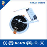 Warmes Weiß 10W 20W 30W rundes Dimmable SMD LED Downlight
