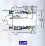Selo SL110 mecânico para a bomba
