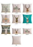 Sehr preiswerte Baumwollwestliche Throw-Leinenkissen für Couch