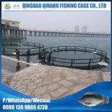 Vida longa Vida redonda HDPE rede de gaiolas para aquicultura de peixe