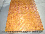 Palet de bambú de la paleta del bloque de la paleta para la máquina del bloque