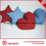 Populäres nettes Stern-und Inner-Form-Sämischleder-Veloursleder-Kissen-Kissen