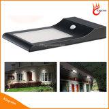 Indicatore luminoso solare solare del sensore di movimento dell'indicatore luminoso 48LED della parete, indicatore luminoso solare del giardino