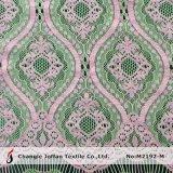 Tela de nylon do laço do vestido do algodão da cor da forma dois (M2192-M)
