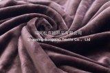 Velluto Super-Soft 2017 con la coperta del velluto di cotone di Shu/panno morbido Brown Gettare-Scuro di Sherpa