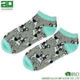 Изготовленный на заказ носки лодыжки женщин хлопка логоса
