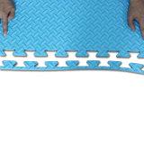 Stuoie variopinte di esercitazione della gomma piuma di EVA della palestra--Pavimento di stile di struttura del foglio