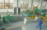cortadora del acero inoxidable de 0.2-6m m y proceso de la máquina de Rewinder