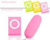jouet sans fil de sexe de vibrateur de remboursement in fine d'oeufs d'amour de MP pour des femmes