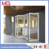 Fabrication en aluminium de porte de pliage de bâti dans Guangzhou