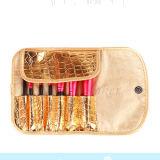 Balais neufs du renivellement 7PCS pour les outils cosmétiques d'oeil de face avec le sac de texture