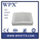 Equipamento de acesso de banda larga FTTH 1fe WiFi Gepon ONU para ISP