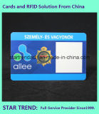 Карточка Cr80 удостоверения личности с магнитной нашивкой для обеспеченности
