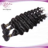 卸し売りインドの毛のディストリビューターを編む最上質の緩いカーリーヘアー