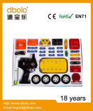 Kit electrónico vendedor caliente del coche de DIY RC, juguetes electrónicos con En71, del coche de la asamblea de DIY certificados En62115