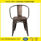 Restaurante Stackable portátil da cadeira do café da cadeira da guarnição do metal do fornecedor que janta a cadeira