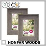 Frame de madeira natural rústico quadrado da foto do retrato para o estúdio da galeria