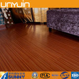 Tuile auto-adhésive de vinyle de plancher en bois