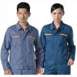 Wholesale Working Clothes Cotton Long Sleeves Industrial Work Uniform