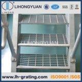 Pisadas Grating de acero galvanizadas, pisadas de acero galvanizadas de la rejilla