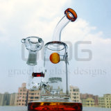 Gldg doppelter Zylinder-Hammerhai-Recycler-kleines Ölplattform-Wasser-Rohr