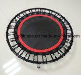 Mini tremplin de pliage Springless avec la corde d'élastique de tremplin