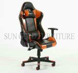 Moderner Form billig heißer Verkaufs-schöner lederner Spiel-Stuhl, der Stuhl (SZ-GCR006, läuft)