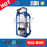 Máquina comercial del tubérculo del hielo de Icesta para el hielo que vende 25t/24hrs