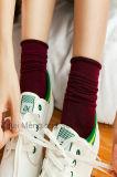 Sokken Kleine MOQ van de Winter van het Meisje van de Goede Kwaliteit van de manier keuren de Lange goed
