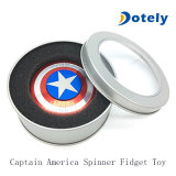 Capitán Shield Metal Spinner Toy de América