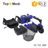 障害者のためのTopmediの取り外し可能で調節可能な四輪電気スクーター