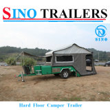 Harter Fußboden-Segeltuch-Zelt-kampierender Schlussteil