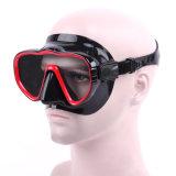 スキューバダイビングおよびスノーケリングの広い眺めの飛び込みマスクのためのFramelessマスク