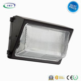 LED Wallpack Light 40W / 60W IP65 impermeável para Refractor de vidro