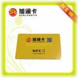 Tarjeta inteligente popular del PVC RFID para ISO9001 verificada