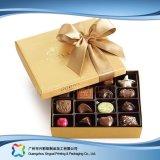 Boîte de empaquetage à chocolat de sucrerie de bijou de cadeau de Valentine avec la bande (XC-fbc-019A)