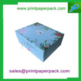 Scatola da pasticceria cosmetica impaccante generale dell'imballaggio del cartone del contenitore di carta di contenitore di monili della casella del profumo del contenitore di regalo del bambino su ordinazione del nastro