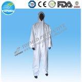 保護使い捨て可能な非編まれたつなぎ服に着せるつなぎ服の安全