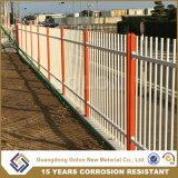 電流を通すカラー鉄の壁の塀