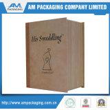 Produits de beauté de empaquetage de papier de palette de fard à paupières de cadre de livre de bloc supérieur empaquetant en gros