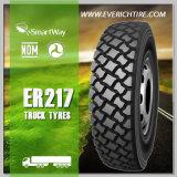 neumático del carro del neumático del acoplado de los neumáticos del presupuesto 225/70r19.5 nuevo con el PUNTO del alcance